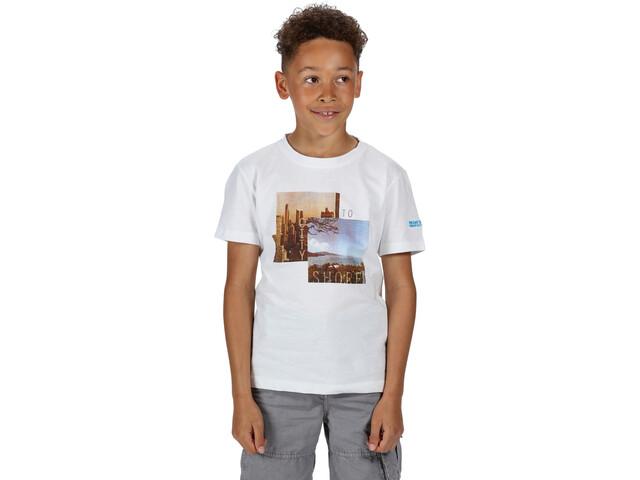 Regatta Bosley III Camiseta Niños, white city
